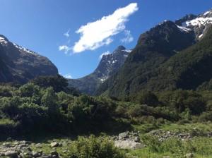 Mackinnon Pass looms ahead